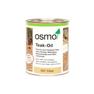 osmo decking oil teak clear 007 timber woodwork accessories online melbourne australia