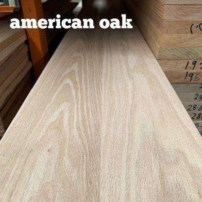 American Oak shelving